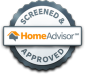 HomeAdvisor review logo