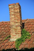 Leaning chimney repair by <i><b>FOUNDATIONS ON THE LEVEL</b></i>